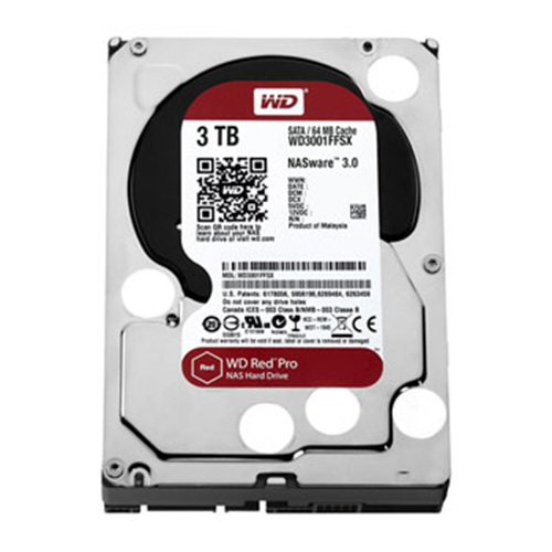 3 Tb Sata-3 64Mb Intellipower Western Digital Red Pro Nas Wd3001Ffsx