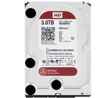 3 Tb Western Digital Intellipower Sata-3 Red Nas 64Mb Cache Wd30Efrx