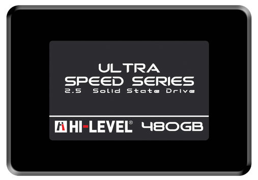 "480 Gb Hi Level 2,5""Sata3 Ultra Series Ssd Hlv-Ssd30Ult/480G(550-530Mb/s)+Kizak"