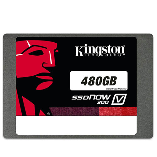 480 Gb Kingston V300  2,5'' Sata3 Ssdnow Sv300S37A/480G(450-450Mb/s) (3 Yil Garanti)