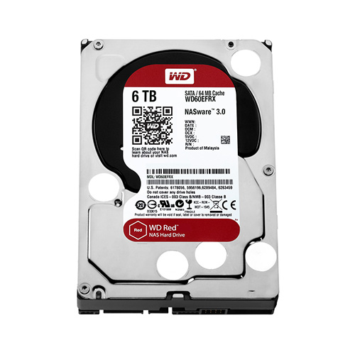 6 Tb Sata-3 64Mb Intellipower Western Digital Red Nas Wd60Efrx