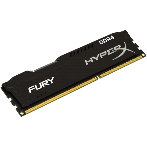 8 Gb Kingston Hyperx Fury Black 2666Mhz Ddr4 Ram Hx426C15Fb/8
