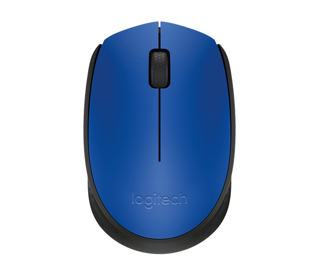 Logitech M171 Wireless Blue Mouse 910-004640