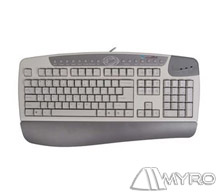 Q A4 Tech Kba-Kb-8 Multimedia Klavye Ps/2 Beyaz